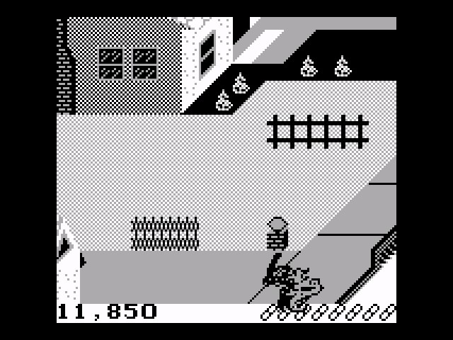 Paperboy 11,850 points
