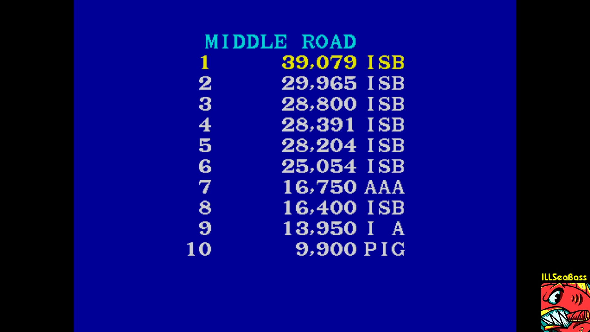 ILLSeaBass: Paperboy [Middle Road] (Arcade Emulated / M.A.M.E.) 39,079 points on 2017-11-05 21:50:22