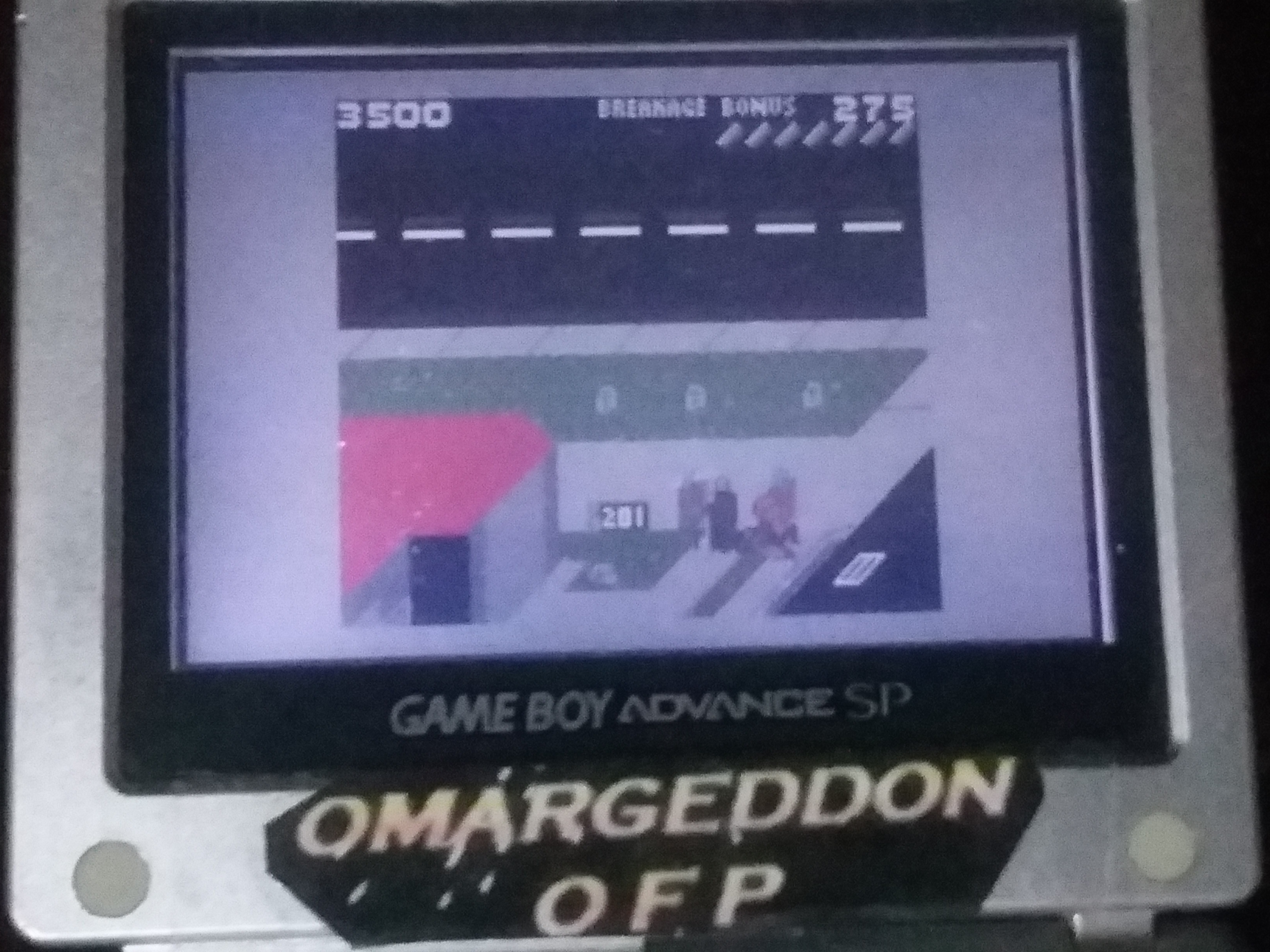 omargeddon: Paperboy [Middle Road] (Game Boy Color) 3,500 points on 2018-03-17 19:12:10