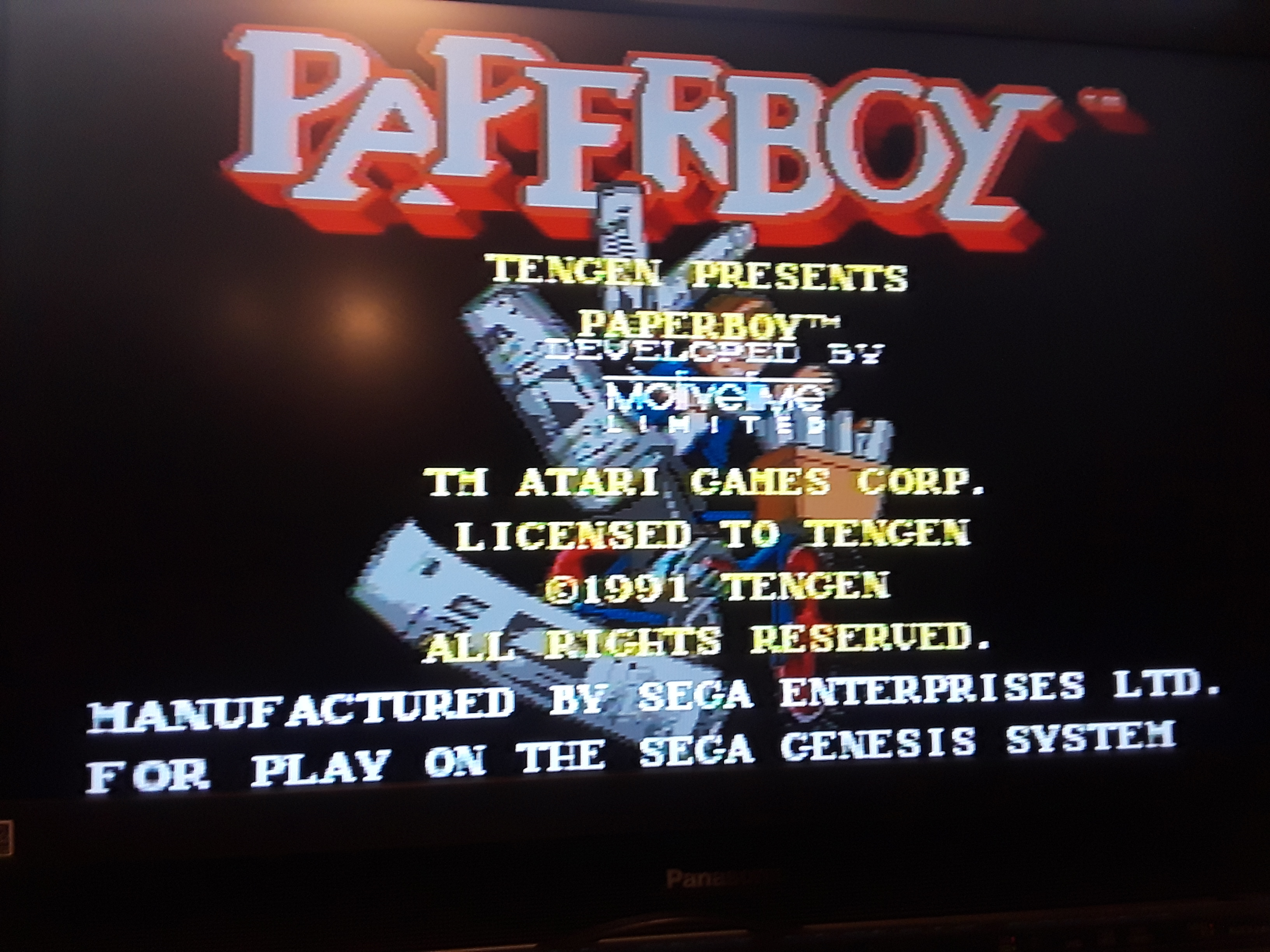 Paperboy [Middle Road] 12,000 points