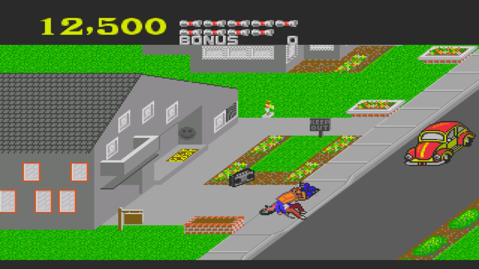 AkinNahtanoj: Paperboy [Middle Road] (Sega Genesis / MegaDrive Emulated) 12,500 points on 2020-08-26 16:55:12