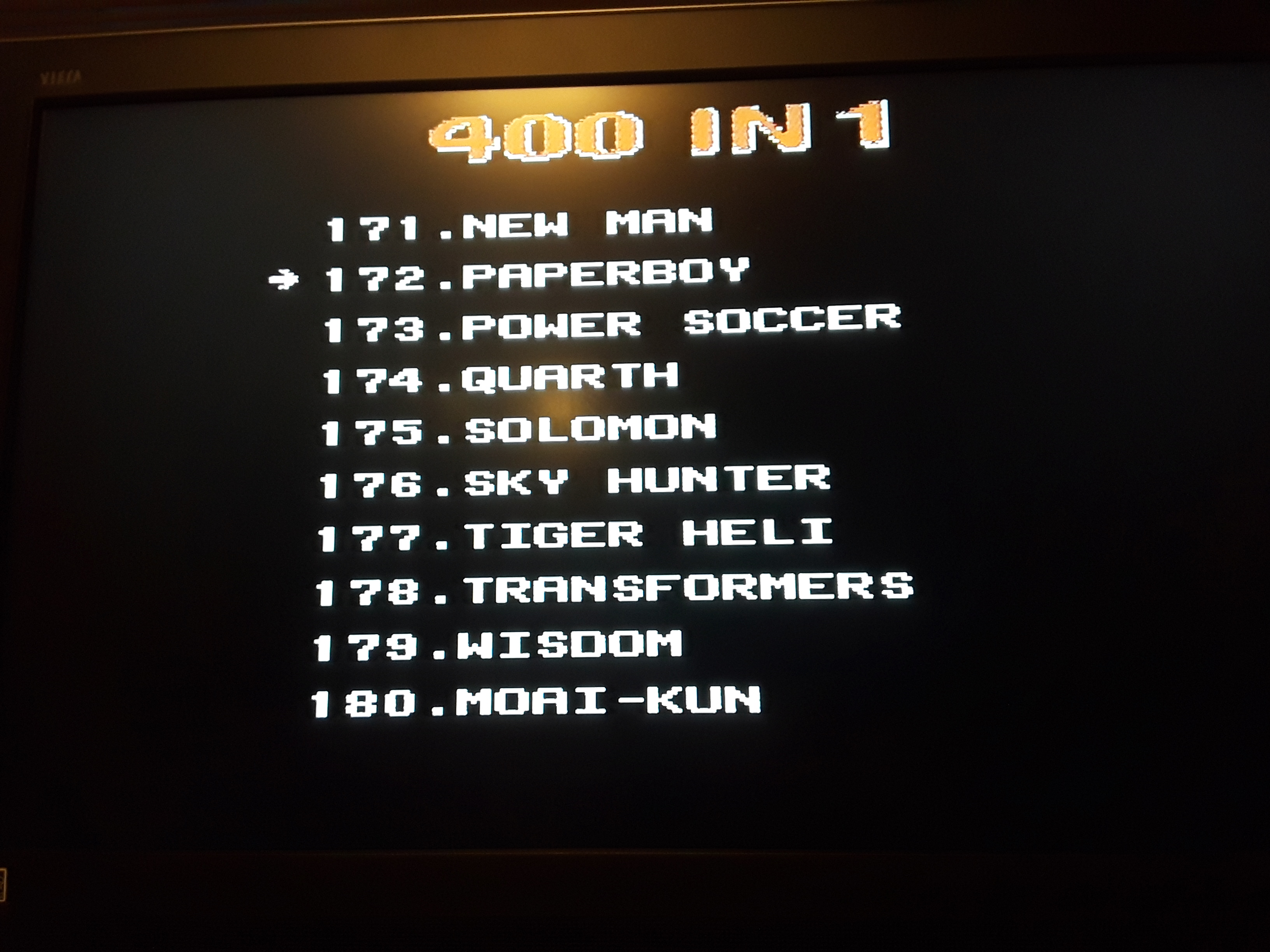 Paperboy 4,700 points