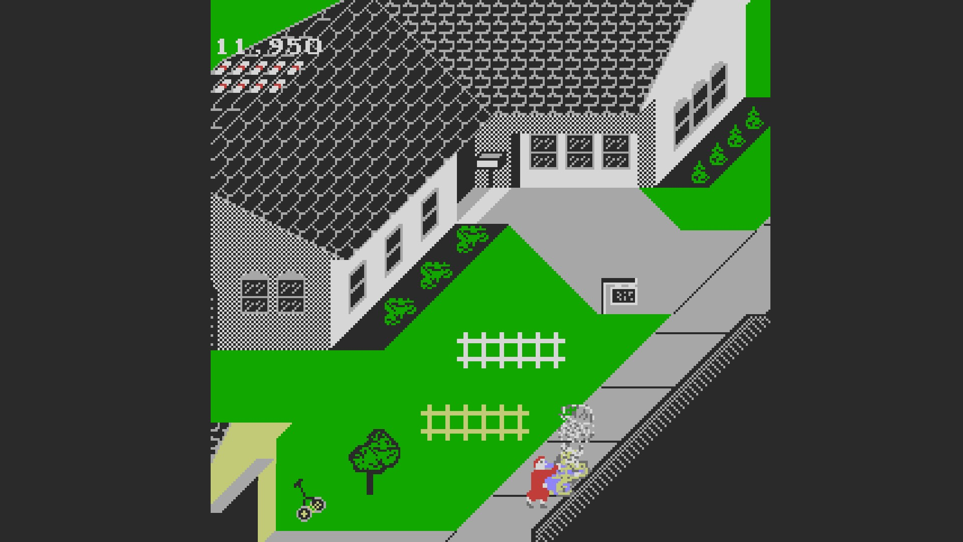 Paperboy 11,950 points