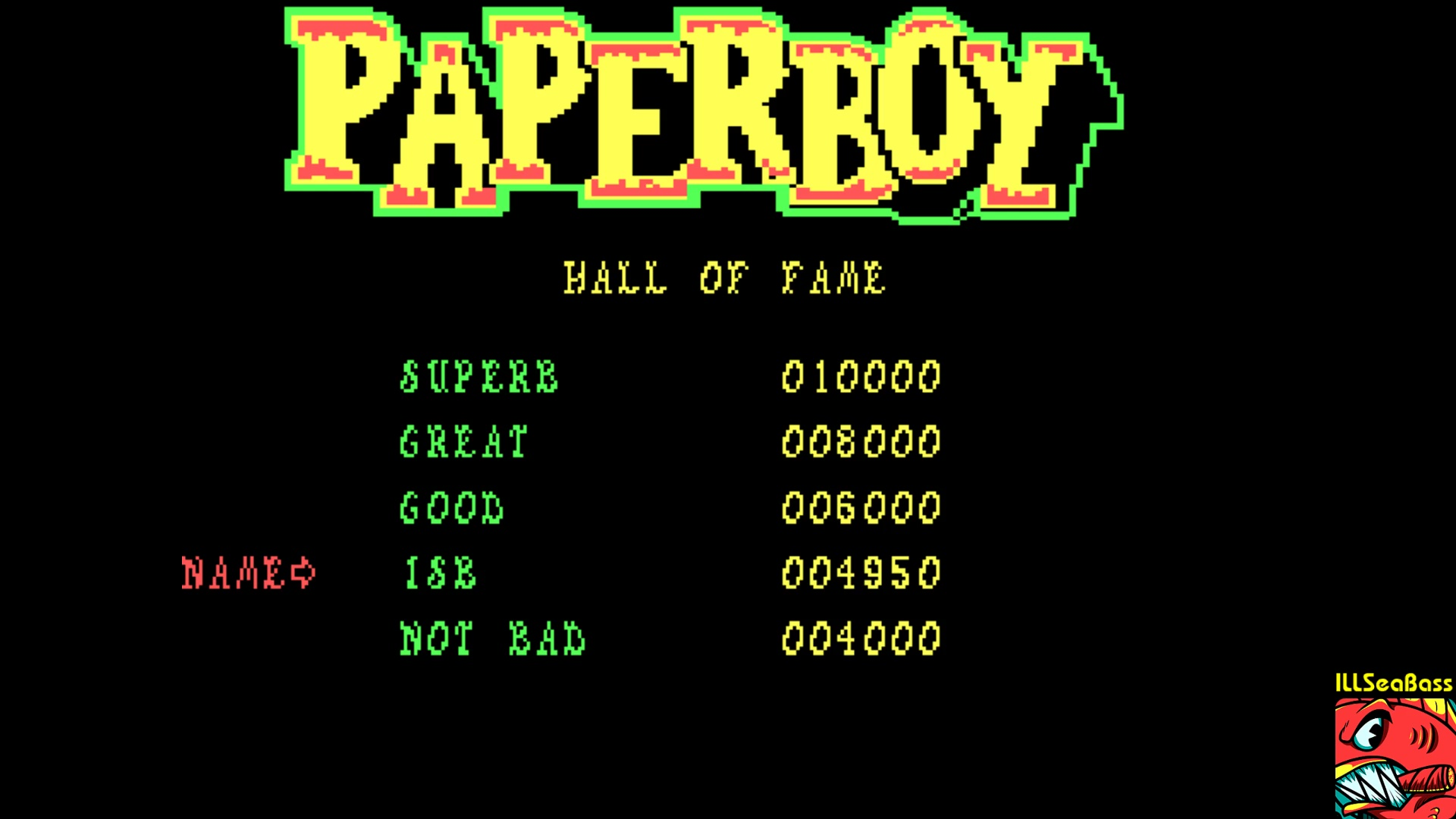 ILLSeaBass: Paperboy (PC Emulated / DOSBox) 4,950 points on 2018-01-07 15:42:02