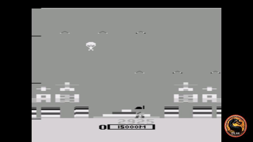 omargeddon: Parachute (Atari 2600 Emulated) 2,925 points on 2019-04-19 10:35:22