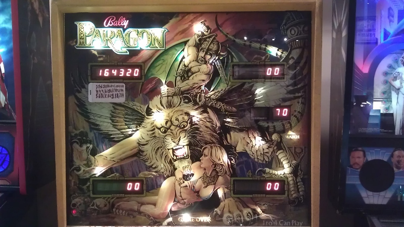 ichigokurosaki1991: Paragon (Pinball: 3 Balls) 164,320 points on 2016-06-05 01:06:02
