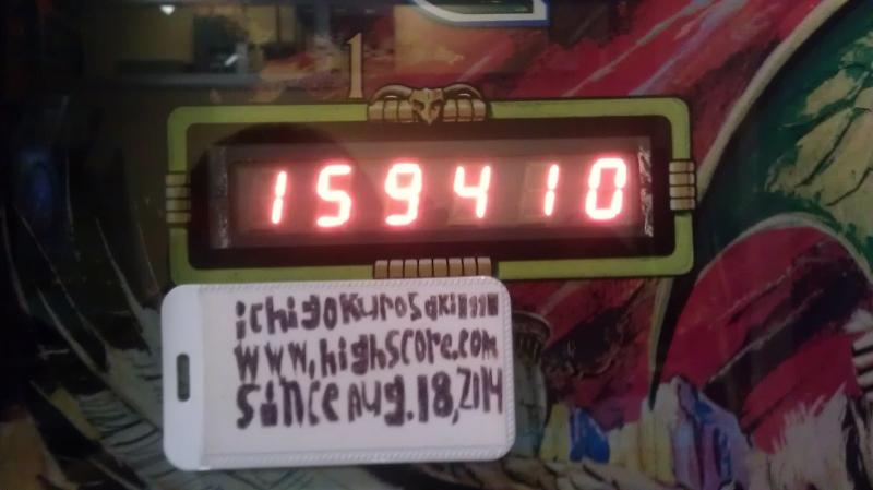Paragon 159,410 points