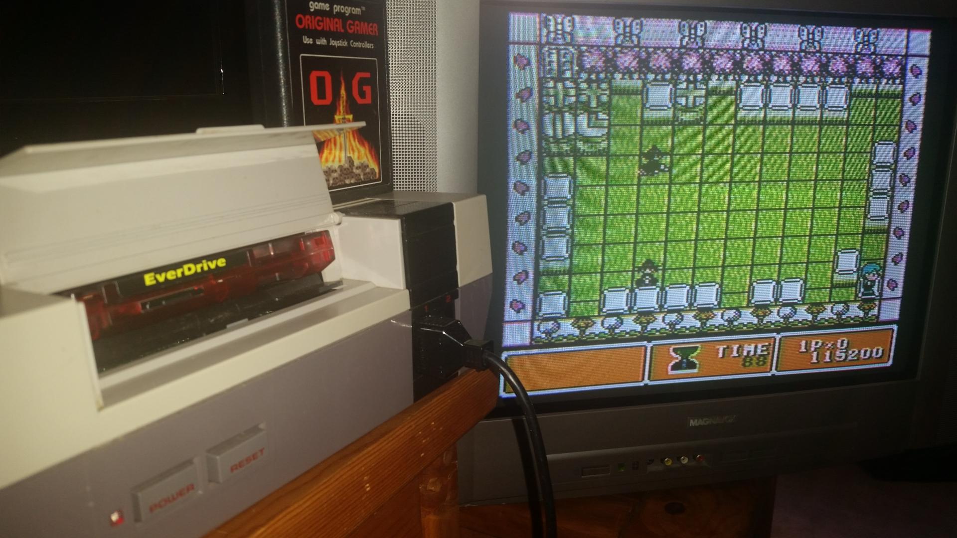 OriginalGamer: Parallel World (NES/Famicom) 115,200 points on 2016-09-05 02:28:35