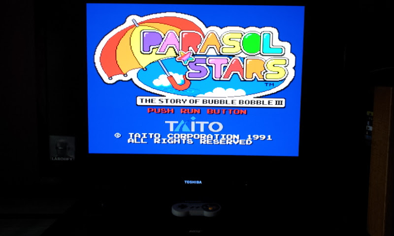 Larquey: Parasol Stars (TurboGrafx-16/PC Engine Emulated) 2,824,630 points on 2017-08-28 14:59:11