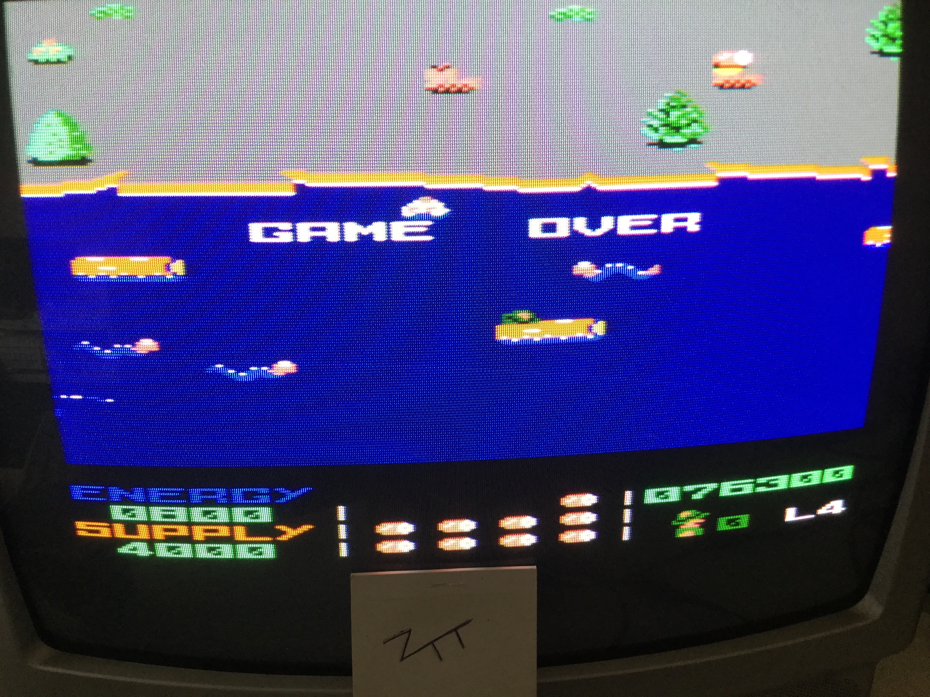 Frankie: Park Patrol (Amstrad CPC) 76,300 points on 2017-03-25 03:02:56