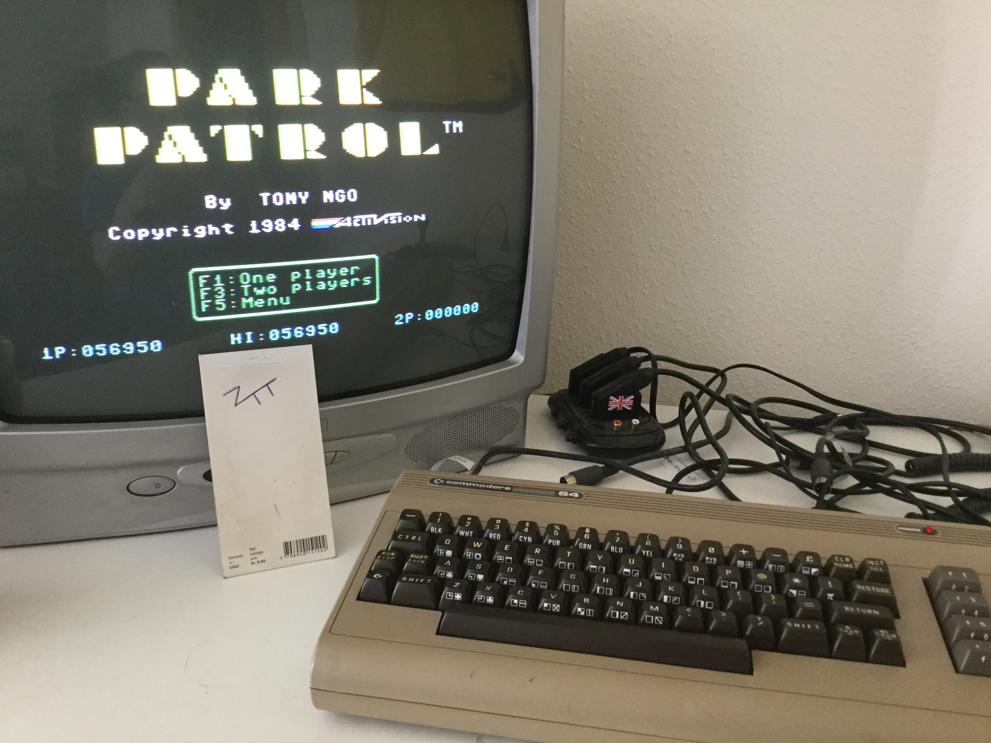 Frankie: Park Patrol (Commodore 64) 56,950 points on 2017-05-25 04:13:34