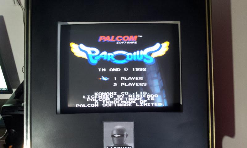 Larquey: Parodius (NES/Famicom Emulated) 72,700 points on 2018-04-14 05:39:14