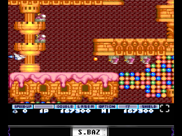 S.BAZ: Parodius [Normal] (TurboGrafx-16/PC Engine Emulated) 167,300 points on 2016-08-08 16:44:21