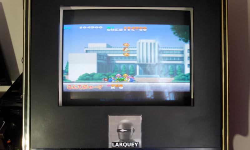 Larquey: Parodius Portable: Jikkyou Oshaberi Parodius (PSP Emulated) 104,900 points on 2018-04-14 05:17:03
