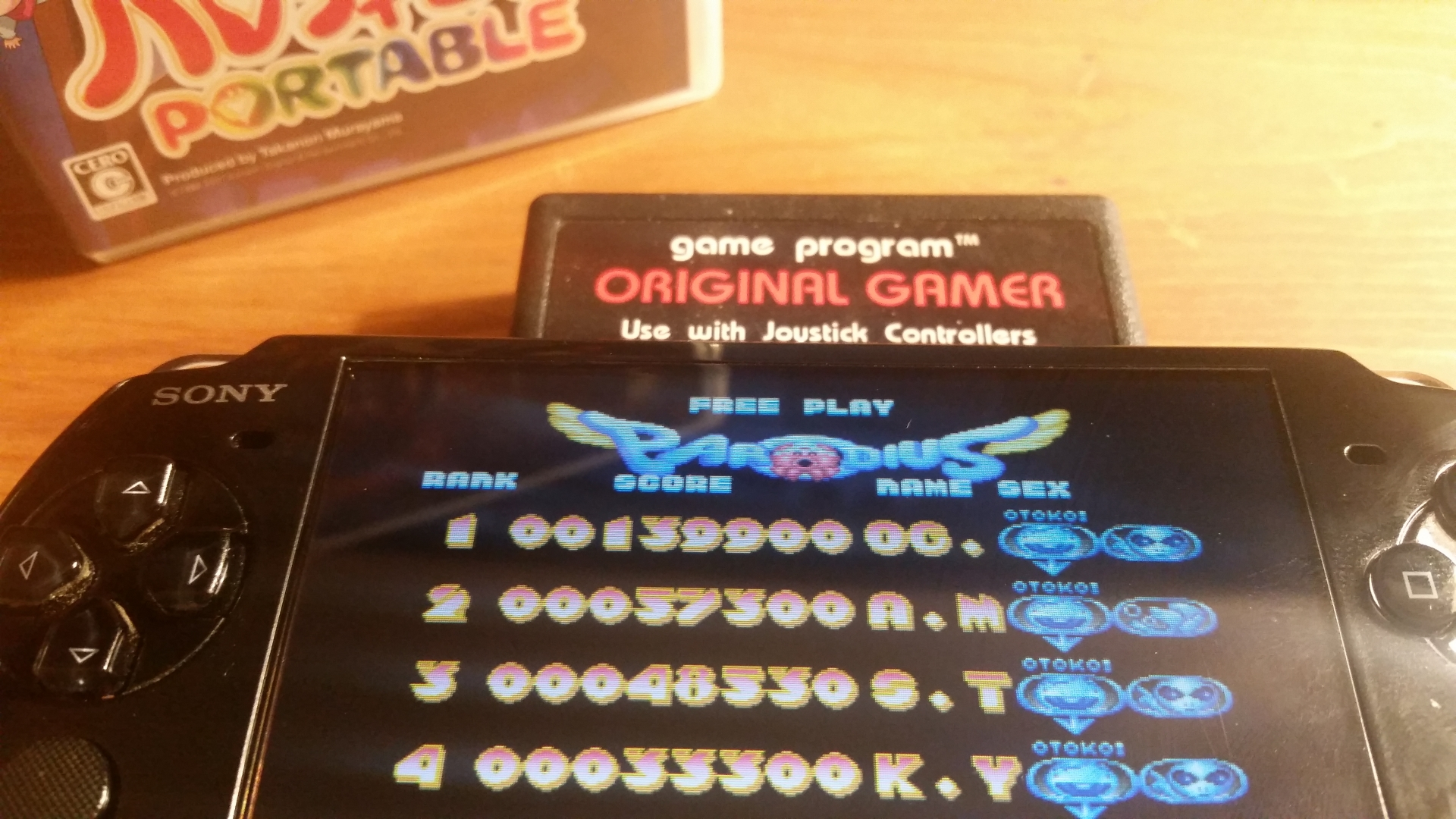 OriginalGamer: Parodius Portable: Parodius Da! (PSP) 139,900 points on 2018-01-07 04:39:43