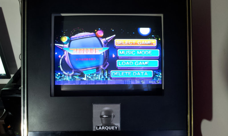 Parodius Portable: Parodius 76,900 points
