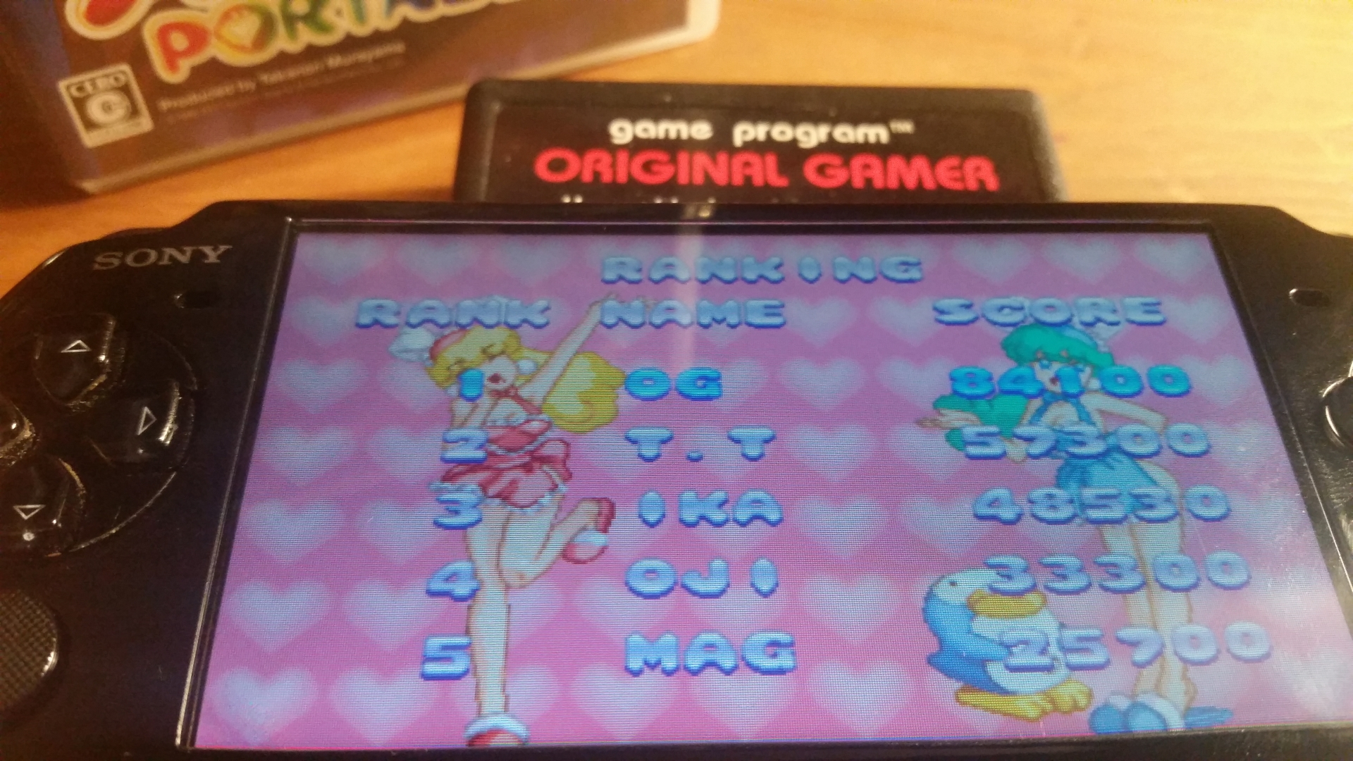 OriginalGamer: Parodius Portable: Sexy Parodius (PSP) 84,100 points on 2018-01-07 04:38:13
