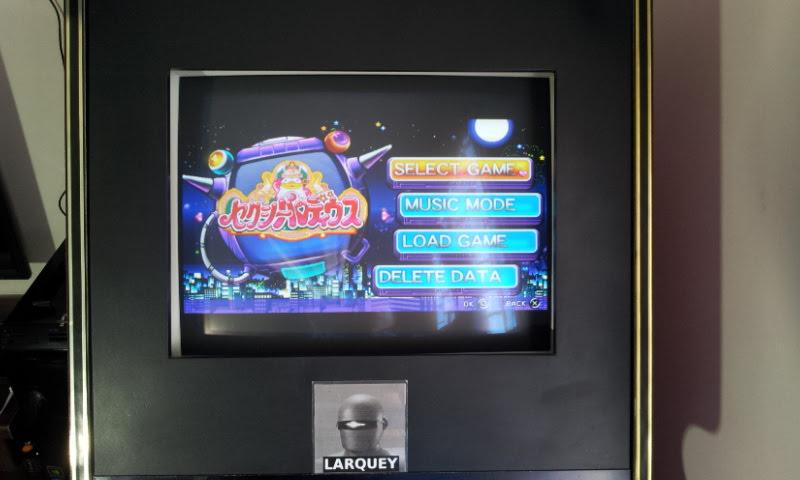 Larquey: Parodius Portable: Sexy Parodius (PSP Emulated) 97,300 points on 2018-04-14 05:21:36