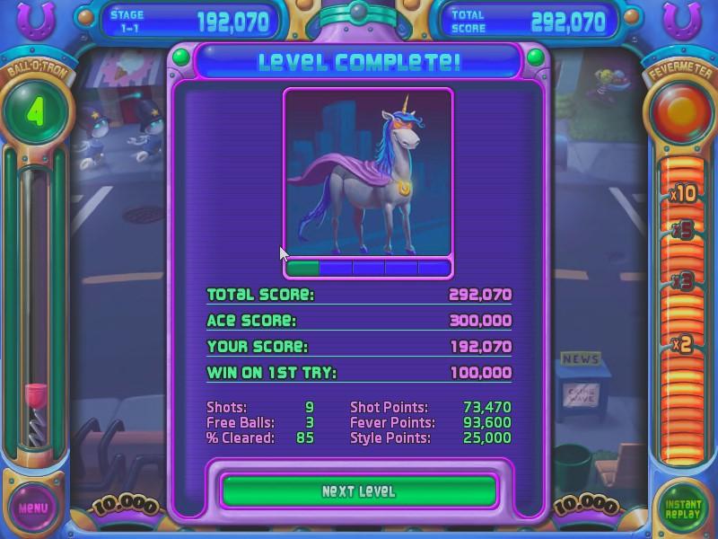AkinNahtanoj: Peggle Nights: Level 1-1 (PC) 292,070 points on 2020-08-18 14:58:06