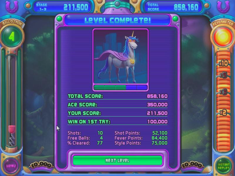 AkinNahtanoj: Peggle Nights: Level 1-3 (PC) 211,500 points on 2020-08-19 14:13:16