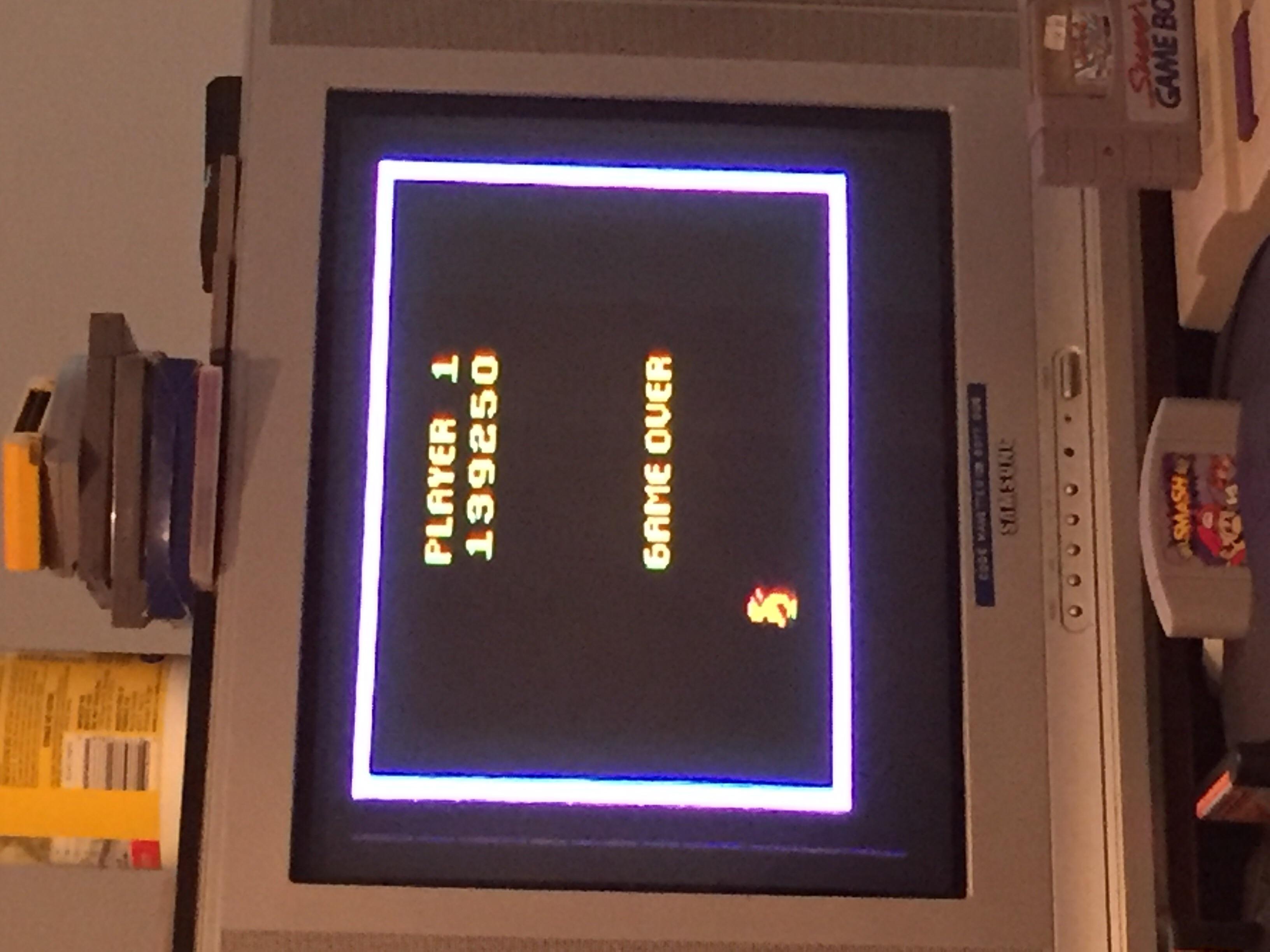 ColonelLlama: Pengo (Atari 2600) 139,250 points on 2019-08-20 16:34:25
