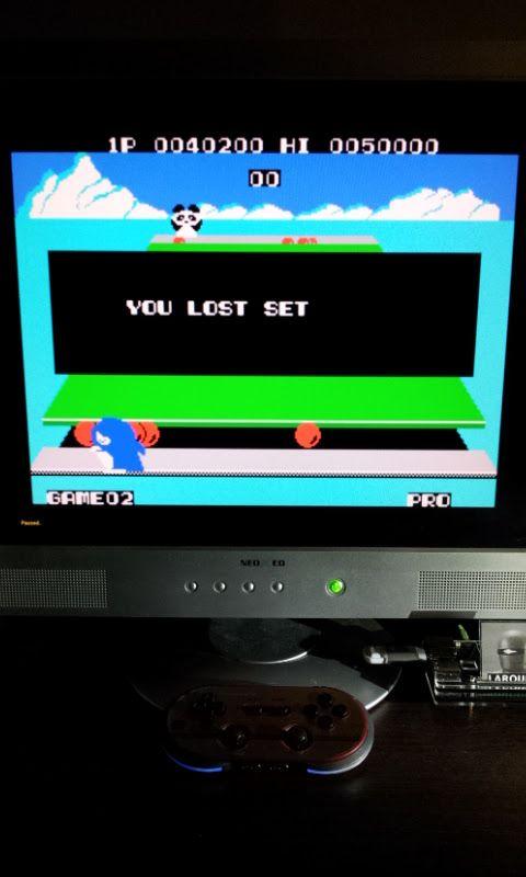 Larquey: Penguin Kun Wars (MSX Emulated) 40,200 points on 2017-01-28 03:38:17