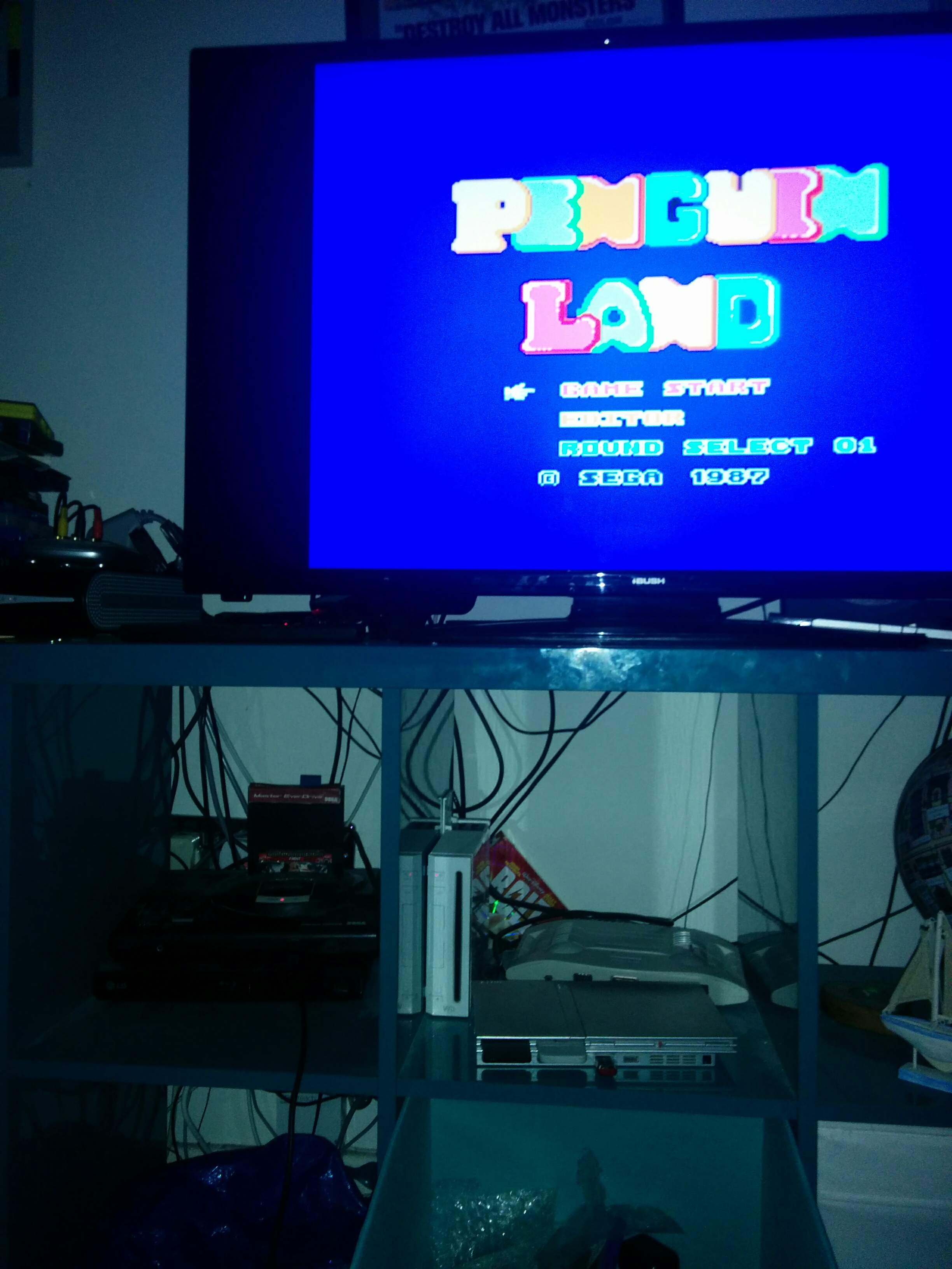 mechafatnick: Penguin Land (Sega Master System) 4,300 points on 2016-08-04 15:39:05