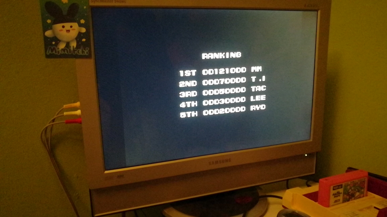 Mimitchi: Penguin kun Wars (NES/Famicom) 121,000 points on 2020-03-12 20:00:32