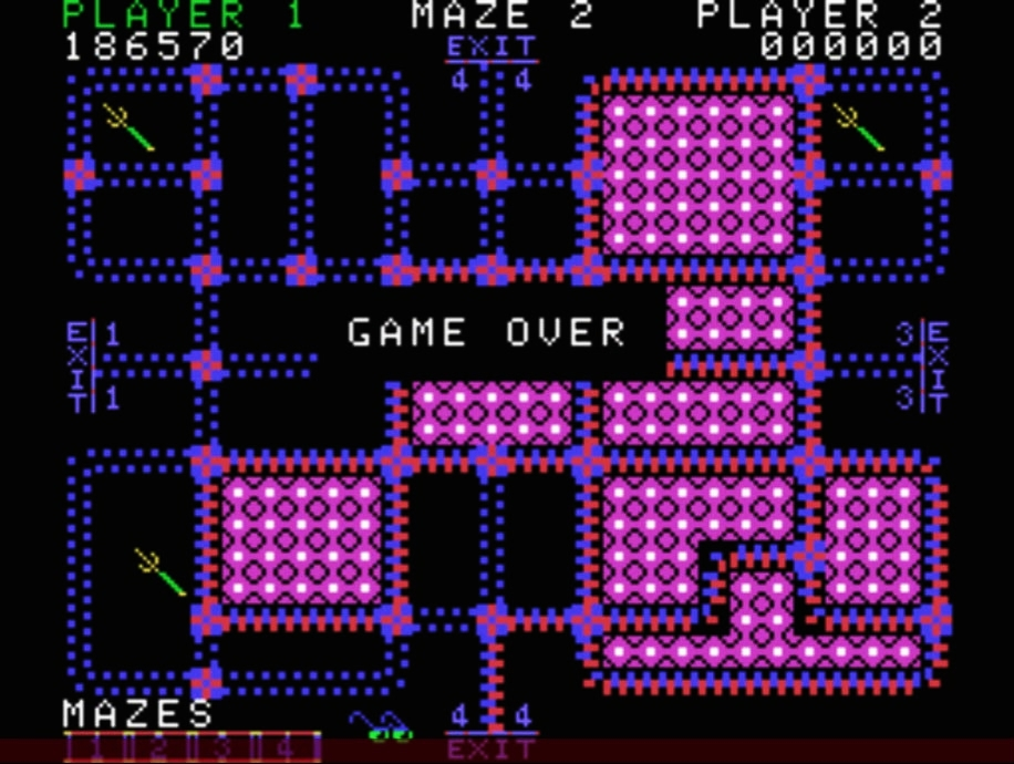 QSpaceman: Pepper II: Skill 1 (Colecovision Emulated) 6,186,570 points on 2016-04-25 03:55:31