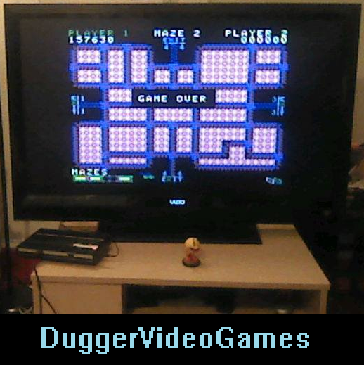 DuggerVideoGames: Pepper II: Skill 2 (Colecovision Flashback) 157,630 points on 2016-04-09 00:05:07