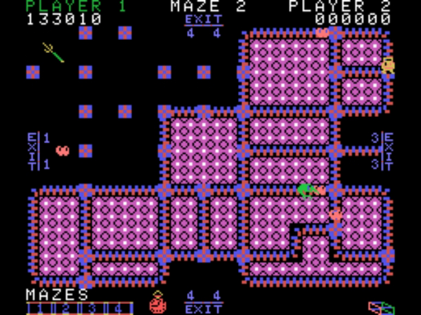 QSpaceman: Pepper II: Skill 4 (Colecovision Emulated) 133,010 points on 2016-04-25 21:45:24