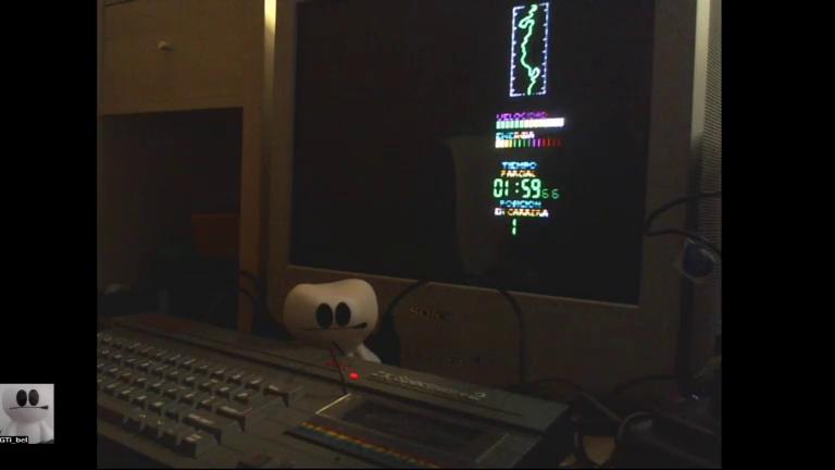 GTibel: Perico Delgado Maillot Amarillo [Stage: Terreno Llano] (ZX Spectrum) 0:01:59.66 points on 2017-11-23 10:25:19