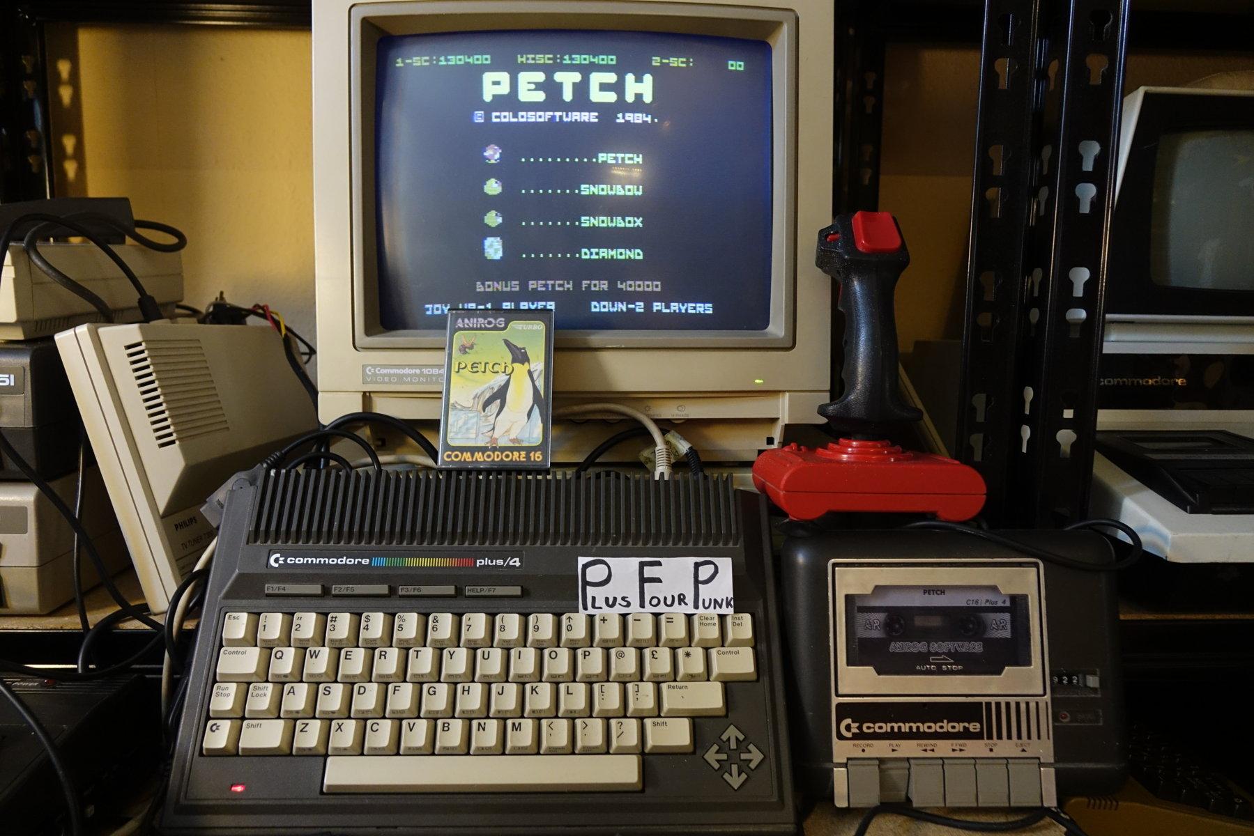 plus4punk: Petch (Commodore 16/Plus4) 130,400 points on 2020-06-13 16:10:01