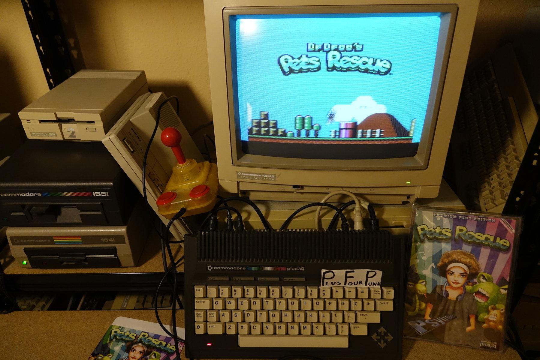 plus4punk: Pets Rescue (Commodore 16/Plus4) 84,600 points on 2020-04-01 18:17:56