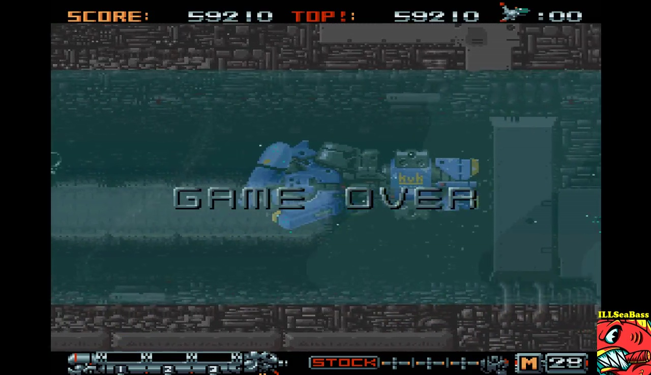 ILLSeaBass: Phalanx [Easy] (Sharp X68000 Emulated) 59,210 points on 2017-06-30 00:31:19