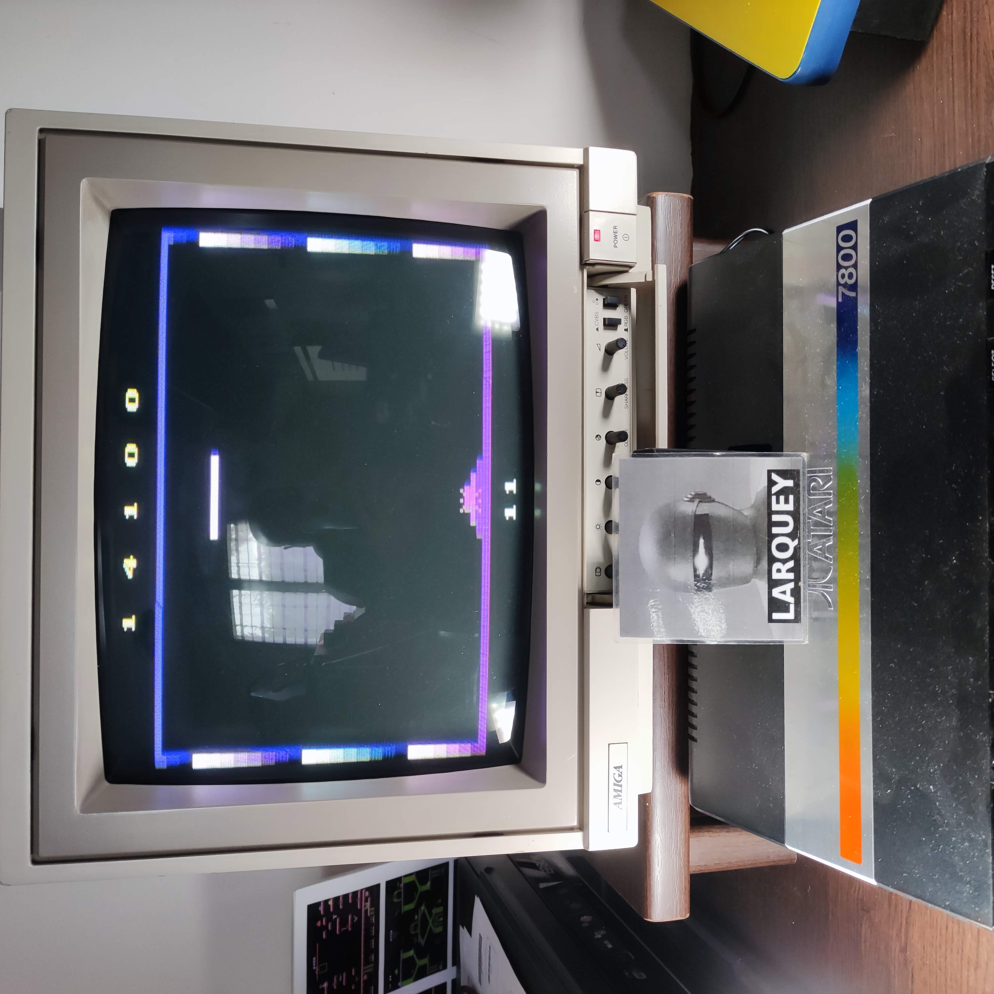 Larquey: Phantom Tank: Game 1 (Atari 2600) 14,100 points on 2020-10-12 12:18:48