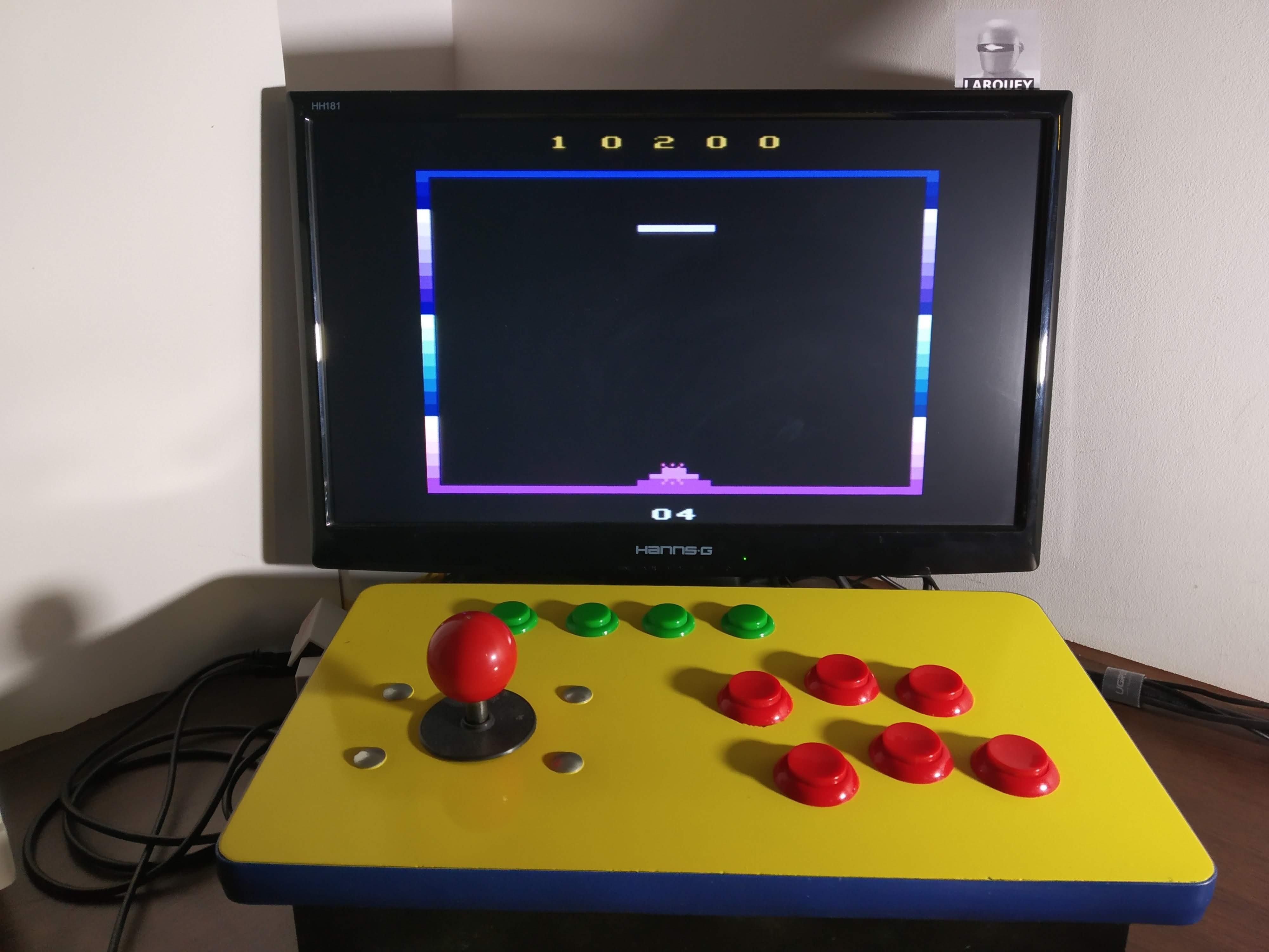 Larquey: Phantom Tank: Game 1 (Atari 2600 Emulated) 10,200 points on 2019-12-31 02:46:02