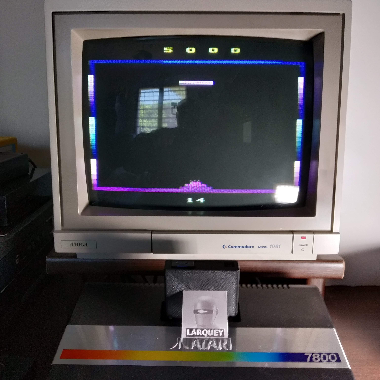 Larquey: Phantom Tank: Game 1 (Atari 2600) 5,000 points on 2020-07-19 15:28:36