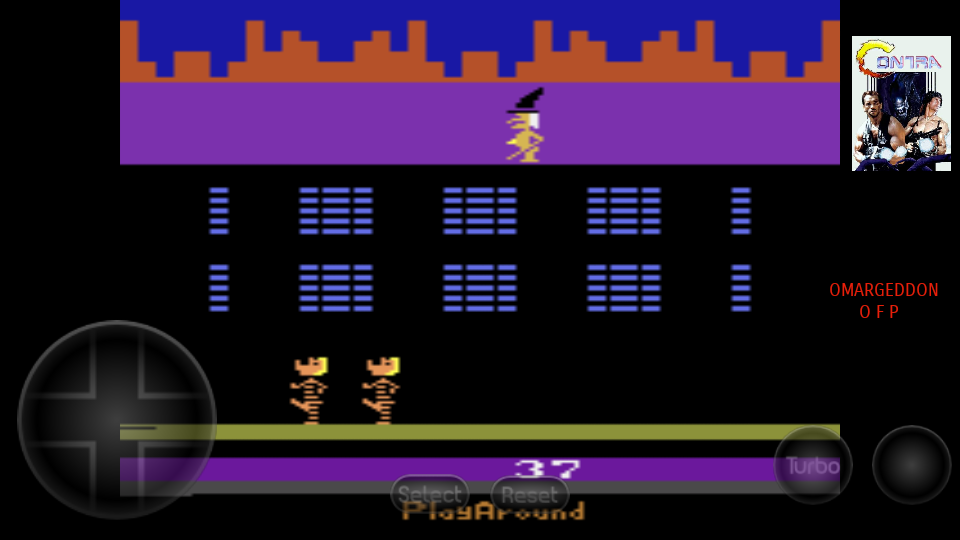omargeddon: Philly Flasher (Atari 2600 Emulated Novice/B Mode) 37 points on 2017-08-30 20:45:45