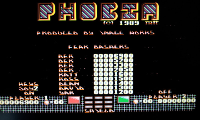 Larquey: Phobia (Amiga Emulated) 6,900 points on 2017-08-26 11:32:53