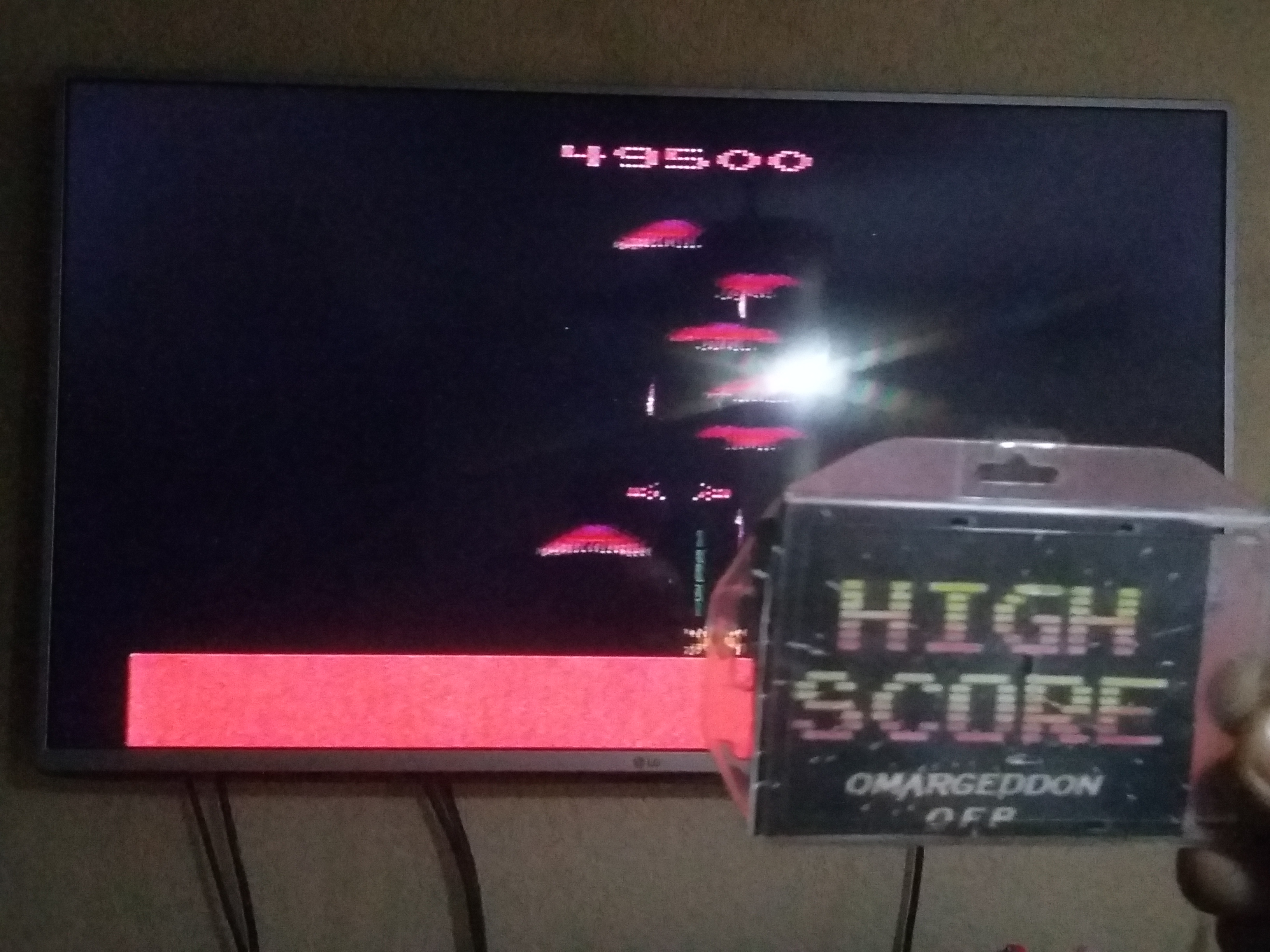 omargeddon: Phoenix (Atari 2600 Expert/A) 49,500 points on 2018-03-24 02:42:06