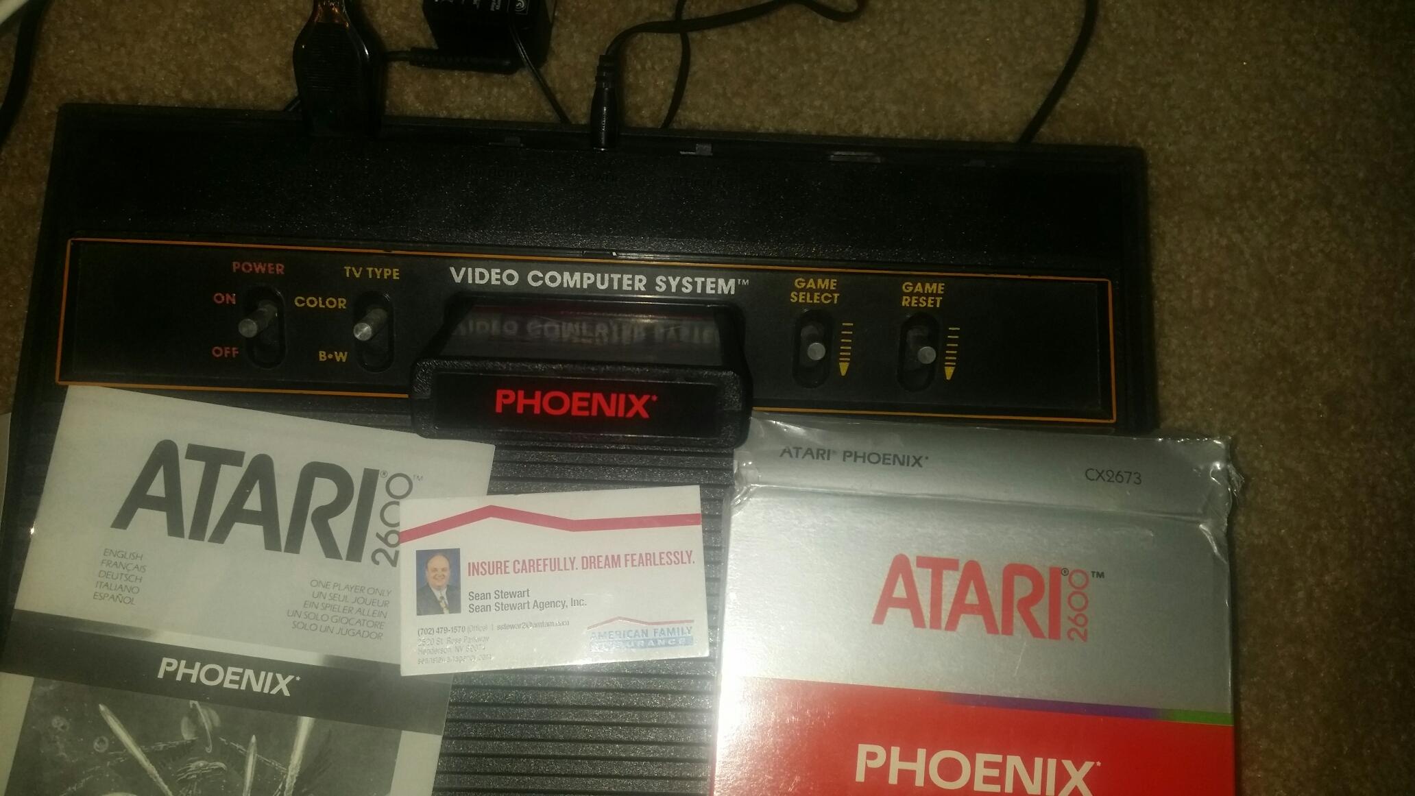 SeanStewart: Phoenix (Atari 2600 Novice/B) 39,010 points on 2016-12-11 23:59:39