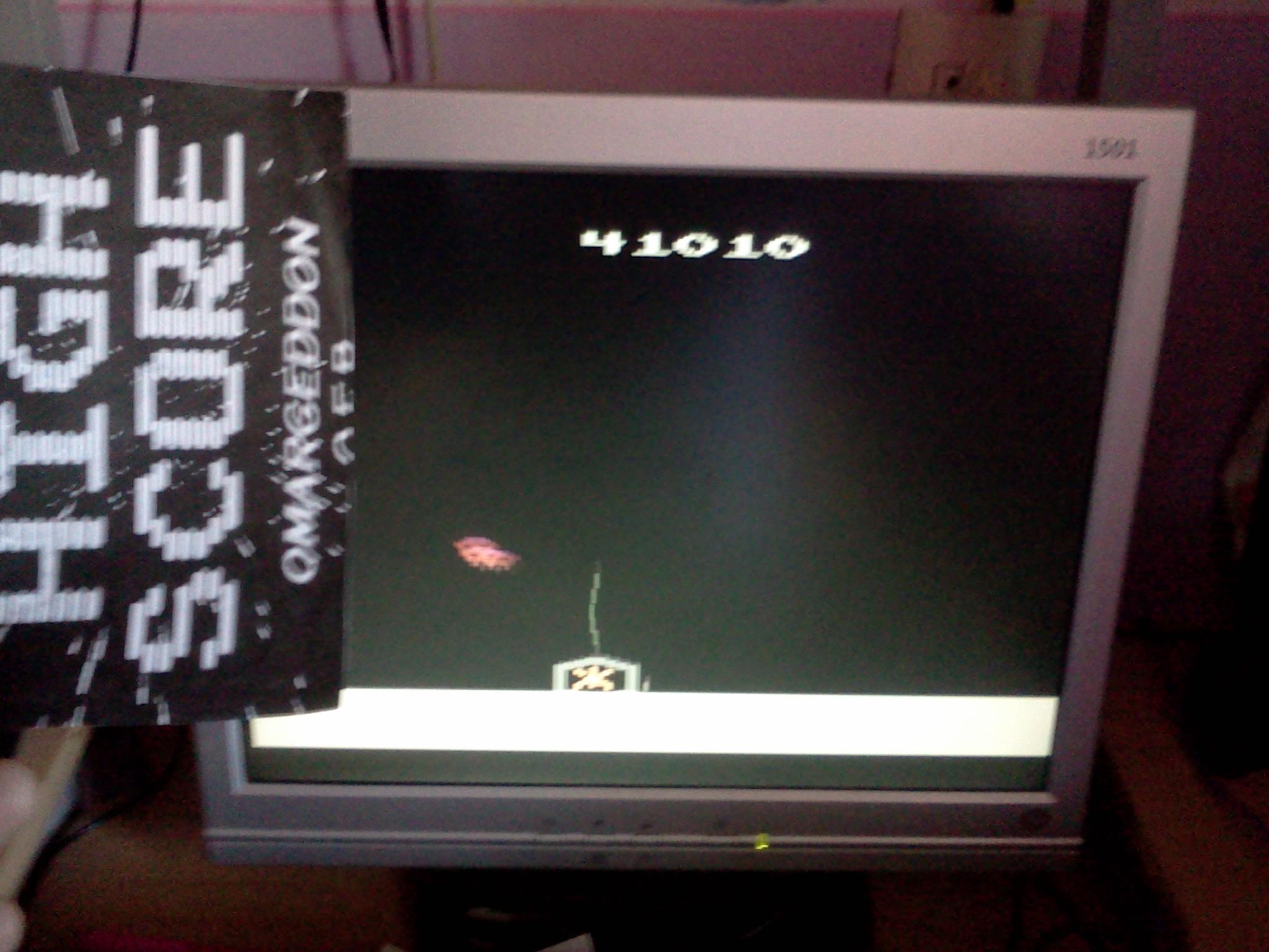 omargeddon: Phoenix (Atari 2600 Emulated Novice/B Mode) 41,010 points on 2016-08-27 12:29:16