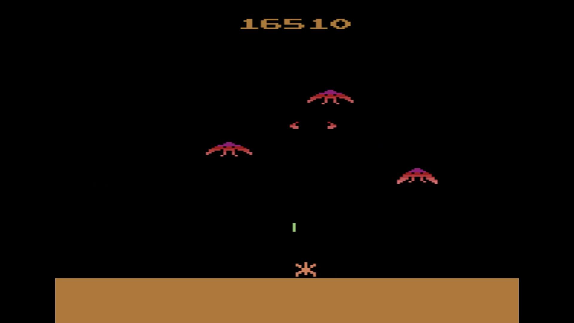 AkinNahtanoj: Phoenix (Atari 2600 Emulated Novice/B Mode) 16,510 points on 2020-08-11 04:09:40