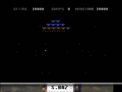S.BAZ: Phoenix I (Atari 400/800/XL/XE Emulated) 20,000 points on 2016-05-18 00:06:08