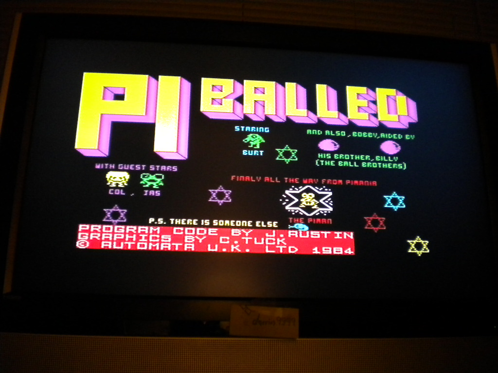 darrin9999: Pi-Balled (ZX Spectrum Emulated) 193 points on 2016-08-10 21:32:13