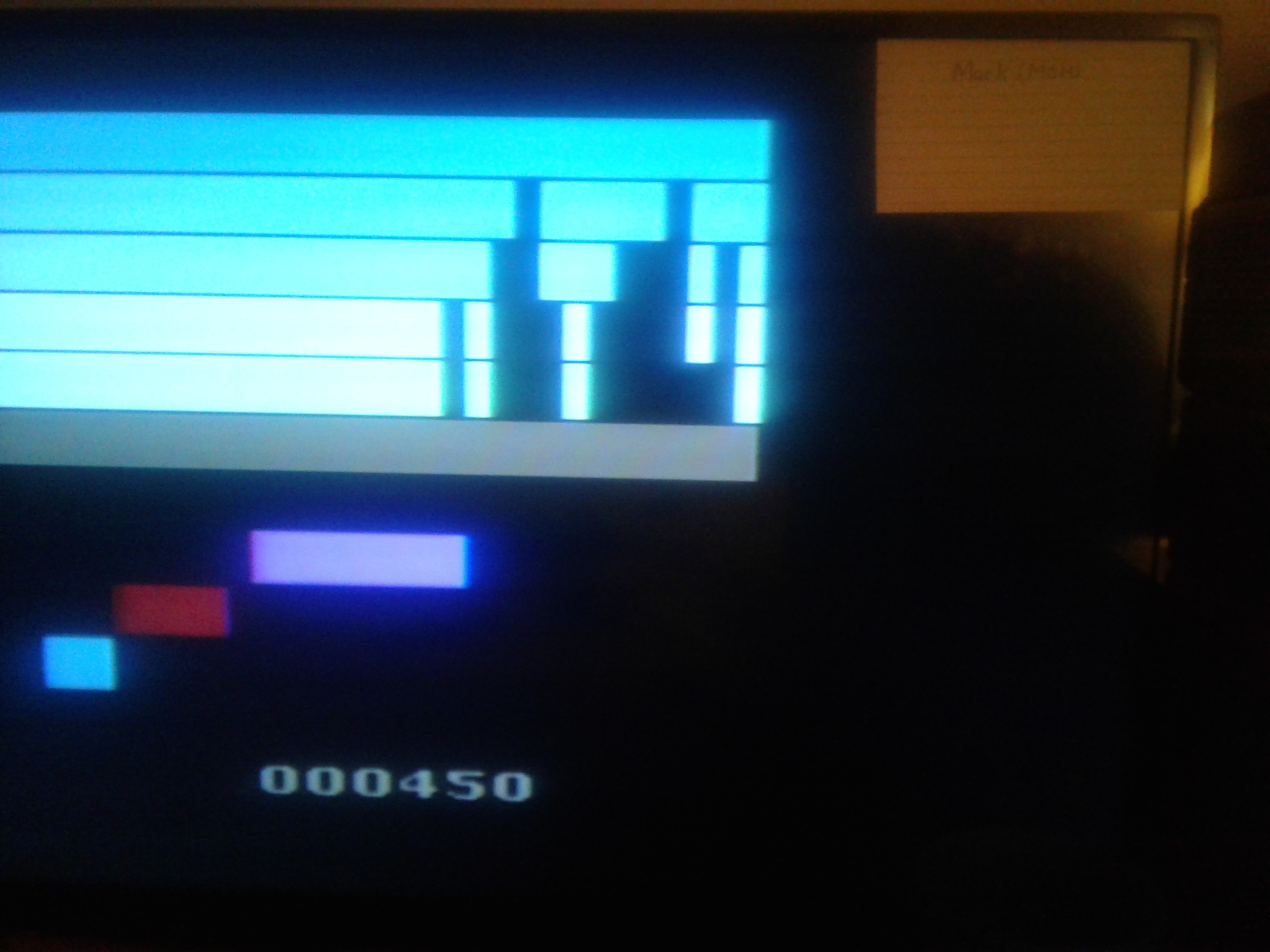 Mark: Piñata: Joyride (Atari 2600 Novice/B) 450 points on 2019-02-20 00:07:56