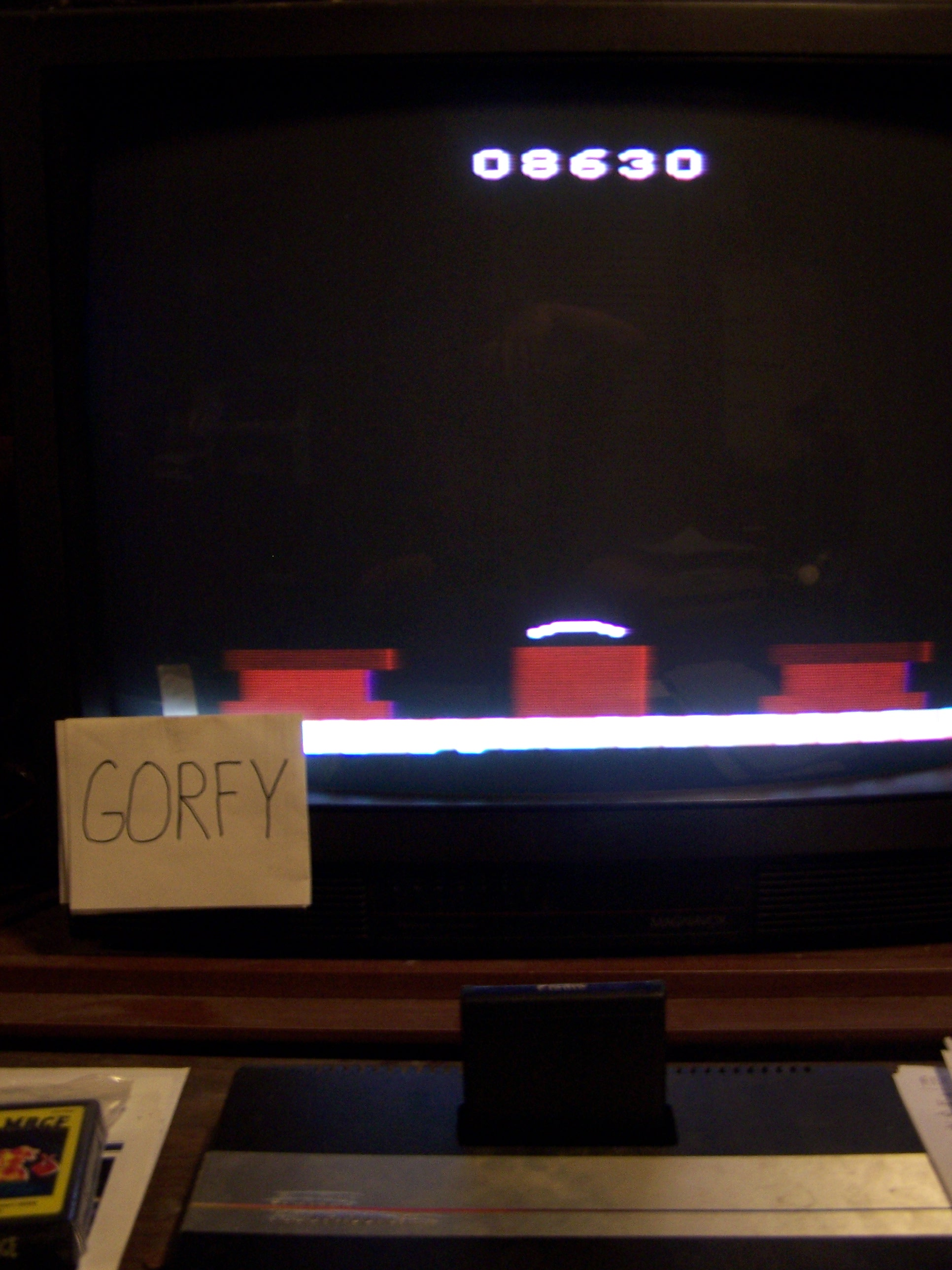 Gorfy: Picnic (Atari 2600 Expert/A) 8,630 points on 2015-07-04 00:20:11