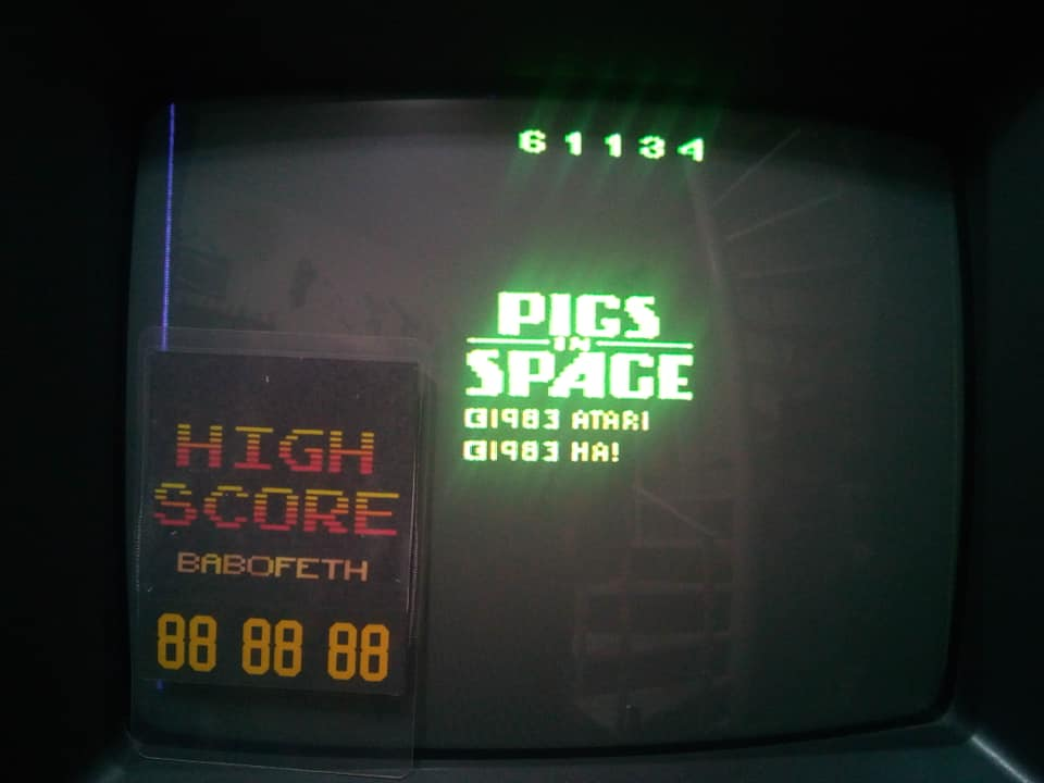 Pigs In Space 61,134 points
