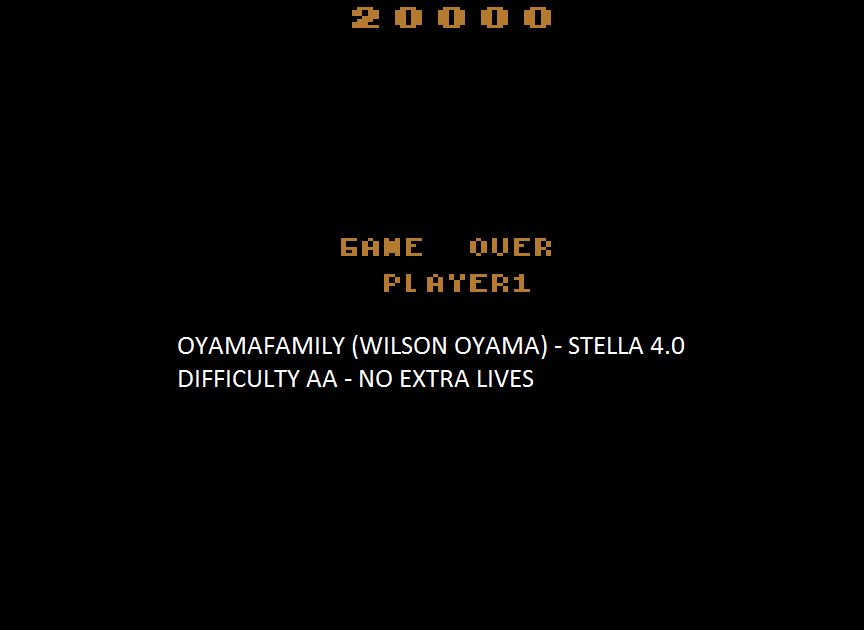 oyamafamily: Pigs In Space (Atari 2600 Emulated Expert/A Mode) 20,000 points on 2015-08-09 19:40:08